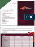 Centrefold Brochure