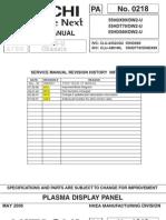 Hitachi 55HDT79 Service Manual