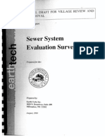 Earth Tech Sewer System Evaluation Survey - 1999