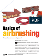 Basics of Airbrushing