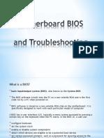 Bios Motherboard Troubleshooting
