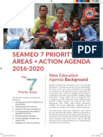 04 SEAMEO 7 Priority Areas Implementation by Centres