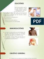 Inmunizaciónes y Esquema