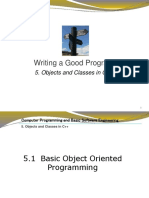 Class and Objects in C