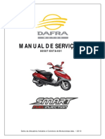 Manual Servico DAFRA SMART 125