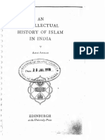 [Aziz Ahmad] Intellectual History of Islam in India