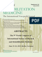 Abstract Booklet ISPRM 2015