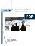 EMSA (European Maritime Safety Agency) Vessel Reporting Services