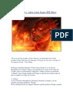 Fuego , Factores Interno y Externos Etiolog%EDa Final