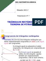 PRESENTACION-Nº7 Triangulos Rectangulos Pitagoras