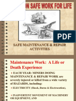 Maintenance Repair Hazards and Safety