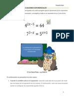 Ejemplos Resueltos Ecuaciones Exponenciales