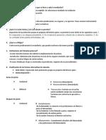 cuestionario primera unidad teoria del proceso