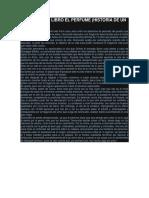 El Perfume- Resumen Analisis