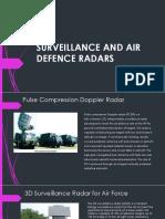 Surveillence Radars INDIA