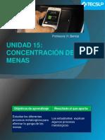 Unidad 15 Concentración de Las Menas