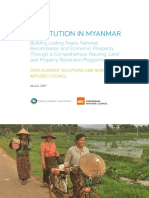 Restitution in Myanmar