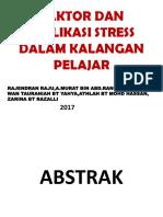 FAKTOR DAN IMPLIKASI STRESS DALAM KALANGAN PELAJAR.pptx
