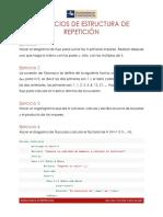 Ejercicios de Estructuras de Repetición Compu