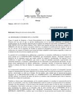 Proyecto de Reforma Previsional