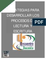 12868474 Estrategias de Desarrollo Del Proceso de Lectura y Escritura Maternal a Preescolar