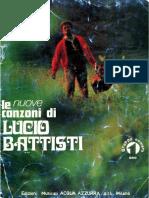 Lucio Battisti Le Nuove Canzoni