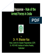 Armed Forces in Disaster Managmnt