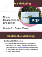 Duane Weaver's Class - MARK 160 Ethics and Sustainability.ppt