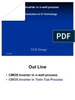 Lecture1 3 CMOS nWELL and TwinTub Process