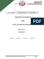 UPVC Storm Water Riser_J2009-005