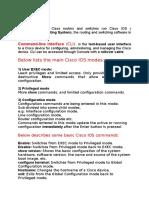 Lab Cisco IOS BasicCommands