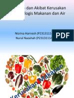 Penyebab dan Akibat Kerusakan Mikrobiologis Makanan dan Air-1.ppt