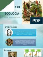 Historia de La Ecología Upla