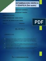 Contaminacion Hidrica y Edafica