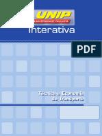 Técnica e Economia de Transporte_Unid I