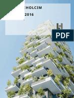 03022017 Finance Lafargeholcim Annual Report 2016 En