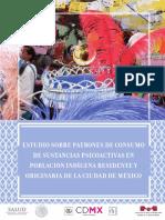 Estudio Sobre Patrones de Consumo De alcohol en pueblos indigenas