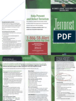 Terrorist Awareness Guide MDPD PINAC
