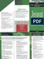 Terrorist Awareness Guide MDPD PINAC