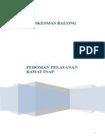 Dokumensaya.com Panduan Pelayanan Instalasi Rawat Inap
