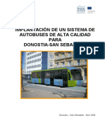 2 Implantacion de Un Sistema de Autobuses de Alta Calidad Para Donostia San Sebastian