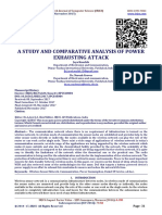 A STUDY AND COMPARATIVE ANALYSIS OF POWER EXHAUSTING ATTACK