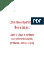 Introduction à la théorie des jeux PPT