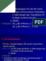 Audiologi II Dr.ys