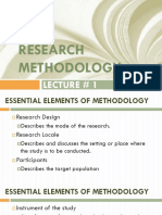 Lecture 1 Research Methodology Rev. 2