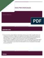 Factores de Riesgo Psicosociales (Uma)