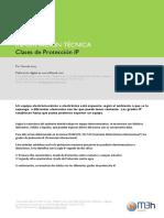 IT - Clases de Proteccion IP