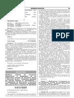 Modifican Articulos Yo Incorporan Disposiciones Al Reglamen Decreto Supremo n 007 2017 Minedu 1548998 8