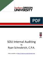2017 SOU Internal Audit