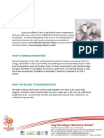 Information for Briquettes